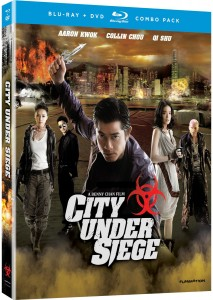 City Under Siege Blu-ray & DVD (Funimation)