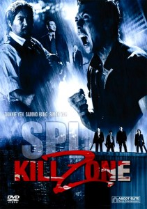 """Kill Zone"" International DVD Cover"