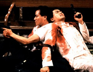 "Danny Lee and Chow Yun-Fat in John Woo's 1989 classic ""The Killer"""