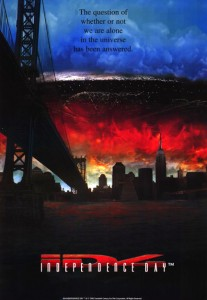 """Independence Day"" American Theatrical Poster"