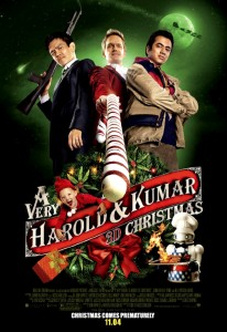 """A Very Harold & Kumar 3D Christmas"" Theatrical Poster"