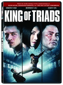 King of Triads DVD aka Bad Blood, Mie Men, Mit Moon (Lionsgate)