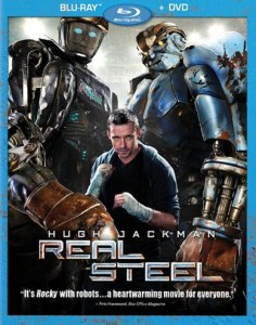 Real Steel Blu-ray & DVD (Disney)
