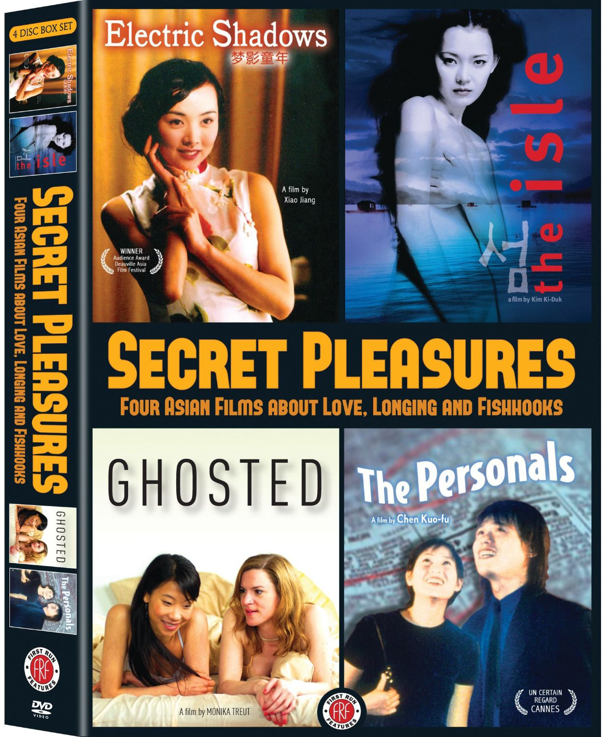 Secret Pleasures: Four Asian Films about Love, Longing and Fishhooks DVD  Set (First
