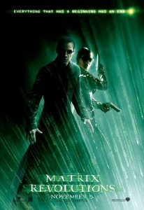 """The Matrix Revolutions"" American Theatrical Poster"