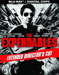 """The Expendables: Extended Director's Cut"" American Blu-ray Cover"
