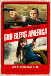 """God Bless America"" Theatrical Poster"