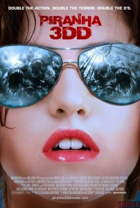 """Piranha 3DD"" International Teaser Poster"