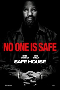 "'Safe House"" Theatrical Poster"