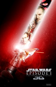 """Star Wars: Episode I - The Phantom Menace"" Teaser Poster"