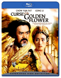 """""""Curse of the Golden Flower"""" Blu-ray Cover"""