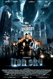 """Iron Sky"" International Theatrical Poster"