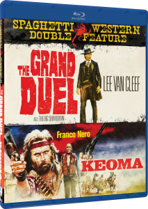 """""""Grand Duel & Keoma"""" Blu-ray Cover"""