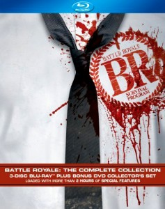 """Battle Royale: Complete Collection"" Blu-ray Cover"