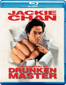 """Legend of the Drunken Master"" Blu-ray Cover"