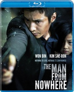 """The Man From Nowhere"" Blu-ray Cover"