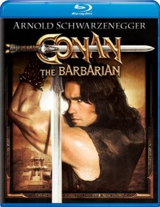 """Conan the Barbarian"" Blu-ray Cover"