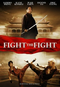 """Choy Lee Fut: The Speed of Light"" (aka Fight the Fight) American DVD Cover"