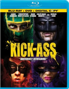 """Kick-Ass"" Blu-ray Cover"