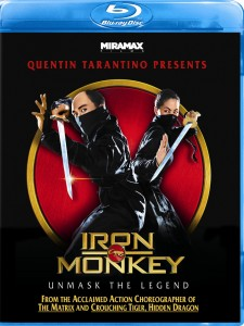 """Iron Monkey"" Blu-ray Cover"