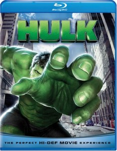 """Hulk"" (2003) Blu-ray Cover"
