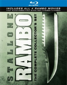 """Rambo: The Complete Collector's Set"" Blu-ray Cover"