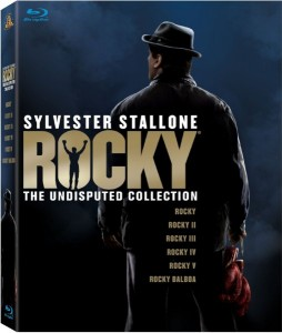 """Rocky: The Undisputed Collection"" Blu-ray Cover"