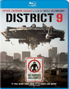 """District 9"" Blu-ray Cover"