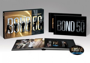 Bond 50: James Bond Complete Blu-ray Box Set (MGM) with Limited Edition Hardcover Book