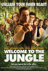 """Welcome to the Jungle"" Theatrical Poster"
