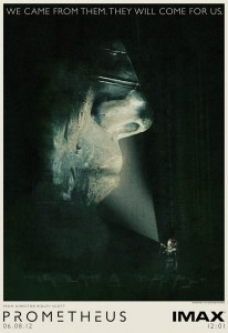 """Prometheus"" IMAX Theatrical Poster"