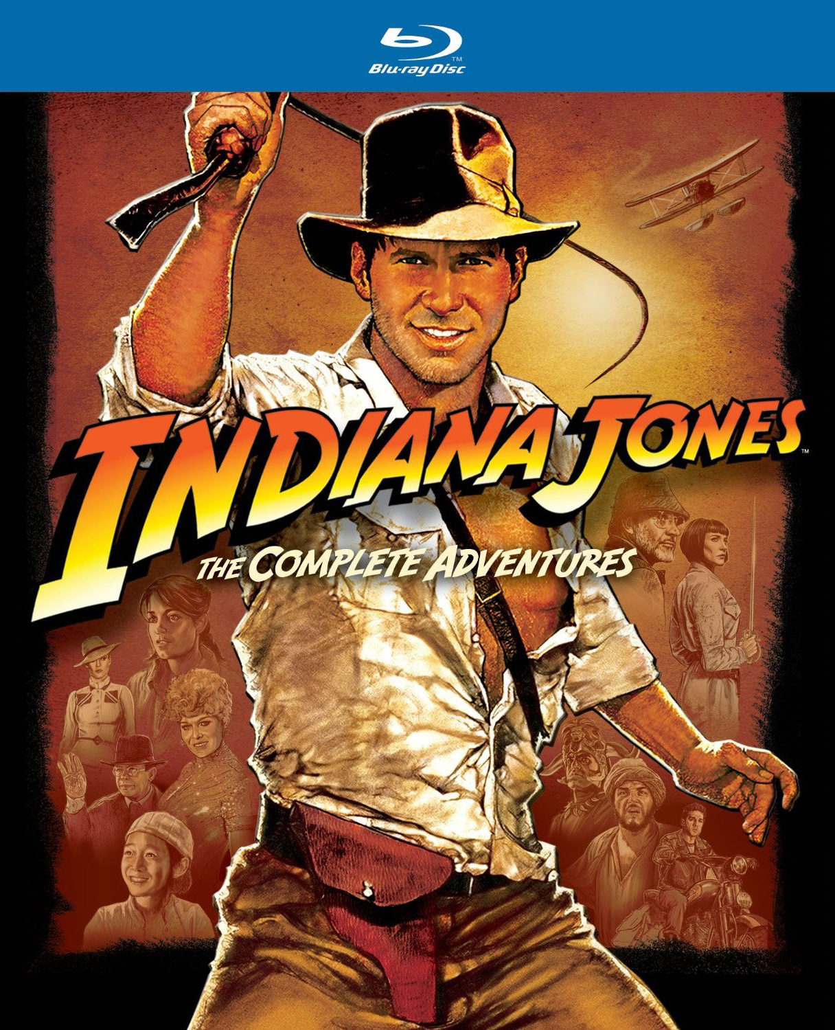 indiana jones the complete adventures blu ray collection paramount. Black Bedroom Furniture Sets. Home Design Ideas