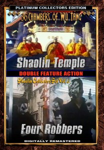 Double Feature: Shaolin Temple & Four Robbers DVD (Screen Magic Films)