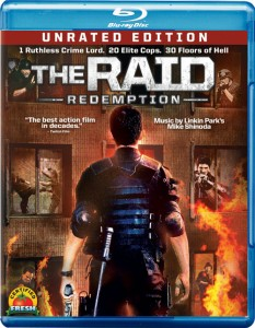 The Raid: Redemption Blu-ray & DVD (Sony Pictures)