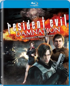 Resident Evil: Damnation Blu-ray & DVD (Sony Pictures)