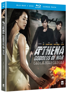 Athena: Goddess of War Blu-ray & DVD (Funimation)