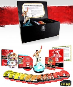 Street Fighter 25th Anniversary Blu-ray & Game Collector's Set (Capcom)