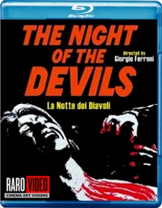 The Night of the Devils Blu-ray & DVD (Raro Video USA)
