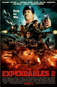 """The Expendables 2"" Comic-Con Poster"