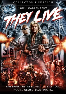 """They Live"" Scream Factory™ DVD Cover"