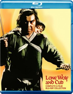 Lone Wolf & Cub Complete Blu-ray Set (Animeigo)