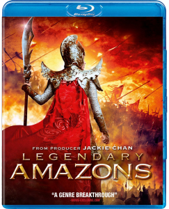 Legendary Amazons Blu-ray & DVD (Well Go USA)