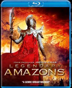 Legendary Amazons Blu-ray & DVD (Well Go USA)