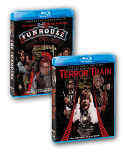 "Scream Factory Presents ""The Fun House"" and ""Terror Train"" on Blu-ray!"