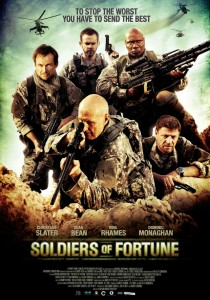 """Soldiers of Fortune"" Movie Poster"