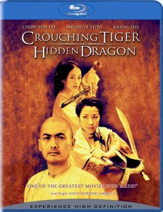 """Crouching Tiger, Hidden Dragon"" Blu-ray Cover"