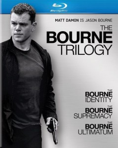 """The Bourne Trilogy"" Blu-ray Cover"