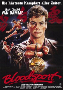 """Bloodsport"" German Theatrical Poster"