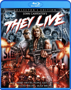 They Live Blu-ray & DVD (Shout! Factory)