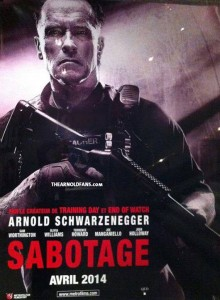 """Sabotage"" (aka ""Ten"") Poster Art"